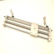 SMC CY1L15H-400B-A73L Rodless Magnetically Coupled Cylinder w/2 D-A73 Switches