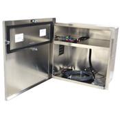 Aluminum Battery Box 18 x 18 x 12 Enclosure w/ 12V DC Solar Charging Board