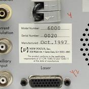 New Focus Vortex 6000 Laser Controller AS-IS Temperature Stability Problem