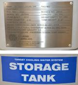 "Diamond-Fiberglass TCO Target Water Cooling Storage Tank 183-Gal Dia:2'-6"" Ht:5'"
