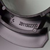 "(27) AIRnet 2811502220 D50 M6 50mm / 2"" Pipe Clip for Pneumatic Aluminum Pipe"