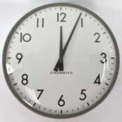 Vintage Mite Corporation Stromberg A3015 Autoset Slave Wall Clock 17.5""