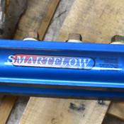 "Burger & Brown Smartflow 2-1/2"" Aluminum Blue 24 1-1/4""--NPT Port Water Manifold"
