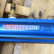"Burger & Brown Smartflow Blue 2-1/2"" Aluminum 24 1-1/4""--NPT Port Water Manifold"