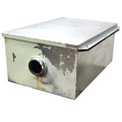 "Commercial Grease Trap Interceptor 30""(D) x 20""(W) x 12""(H) 3.5"" Inlets"