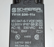 (Lot of 2) Schmersal TV1H236-11Z Limit Switch 230VAC 4-Amp 4A Made-in-Germany