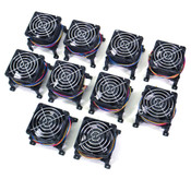 (Lot of 10) NEW Delta AFB0612GHF Brushless 12VDC 1.62A Fan with Stand 32mm