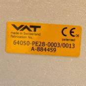 "VAT 64050-PE28-003/0013 12.5"" Pneumatic Air Operated Control Gate Valve"
