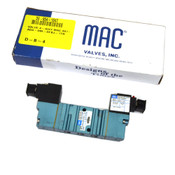 NEW MAC 461A-A0A-DM-DFBJ-1TN w/ (2) DM3A-DFBJ-1TN Solenoid Pneumatic Valve