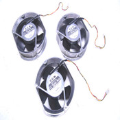 Lot: 3 Sanyo Denki 109E5724H501 Brushless DC Dyna Ace Axial Cooling Fans 24VDC