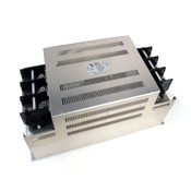 Soshin HF3400C-UQC 3-Phase 400A EMI Filter 480V Missing Terminal Screws & Cover