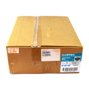 "Cantex 5133711 Non-Metalic PVC 0.13cu. ft. 6""x6""x6"" Junction Box (5)"