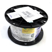 (1000') NEW Olympic Wire & Cable 350-7 Purple 24AWG Stranded Copper Wire Spool