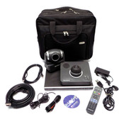 AverMedia AVerComm V2D1 Series H300 Video Conferencing System w/ Carrying Case