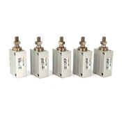SMC CUJB10-20DM Free Mount Double Acting Compact Mini Pneumatic Cylinder (5)