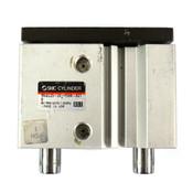 SMC MGQL25-20-Y59A-XC1 Ball Bearing Dual-Rod Pneumatic Guide Air Cylinder
