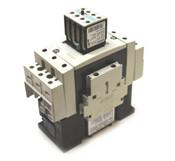 Siemens 3RT1044-1AB00 Contactor Starter w/ 3RH1921-1FA31/1KA11 Auxillary