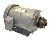 Dayton 3N729 1Hp 3Ph Industrial-Duty Tri-Volt Motor 143T TEFC Electric Bearing A