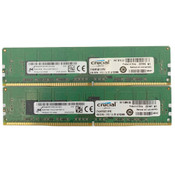 (8GB) Micron 2 x 4GB 2133MHz Server ECC REG Memory 1Rx8 PC4-2133P DDR4 RAM