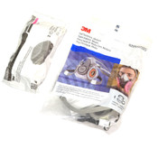 NEW 3M 6200/07025 MED Half-Face Respirator with (2) 60921 P100 Filter Cartridges