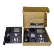 (Lot of 2) Avaya 9630G Black Digital One-X Office IP Desk Phones VoIP w/ Stands