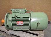 NEW FIMET M2A0 132 M8 3-kW 3-Ph Asynchronous AC Brake Motor 850-RPM Brake:55W
