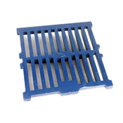 "NEW Zurn ZW01/07-16 11.25"" x 11.25"" x 1"" Blue Cast Iron Replacement Floor Grate"