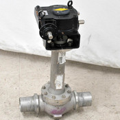 "A.E.V. AEV Advanced C-CS 3"" C-Ball Valve with Rotork AB Manual 1/4 Turn Actuator"