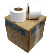 NEW (Box of 12) Uline S-10450W 4-in x 180-ft White 9-MIL Marine Shrink Tape