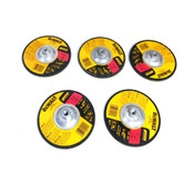 "(Lot of 5) NEW Dewalt DW4999 7""D High Performance Grinding Wheels Type 27"