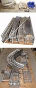 "Huge Industrial 2-Level 16""W Stainless Food-Grade Link-Belt Conveyor 145'-L 3-Ph"