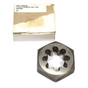 "NEW CHD-16250-8-I 1-5/8"" UNS Thread 3-1/8""-Hex Carbon Steel Rethreading Die"
