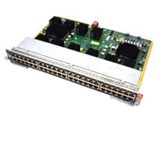 Cisco WS-X4648-RJ45V-E 48-Port 10/100/1000 Base-T Ethernet Switching Module PoE