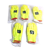 (Lot of 5) NEW Cordova Safety Products 3704 ION-HV SMALL Cut-Resistant Gloves