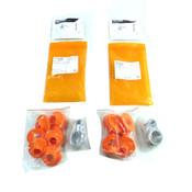 (Lot of 20) Ty-Flot TKIT-124141 Tool Collars(TC8) & Loops(TL8-SS) 5lb. Rating
