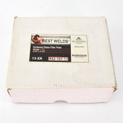 "(Lot of 15) Best Welds 4.5"" x 5.25"" Hardened Glass Welding Filter Plate Shade 11"
