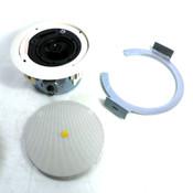 "Atlas Sound LP FAP42TC 4"" Shallow Mount Coaxial In-Ceiling Passive Speaker 8 Ohm"
