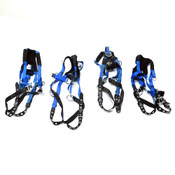 (4) Reliance 802000-AC Universal Size IronMan Lite Safety Harness 310 lbs Max