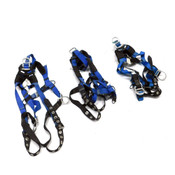 (3) Reliance 802000-AC Universal Size IronMan Lite Safety Harness 310 lbs Max