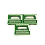 (3) Phoenix Contact FLKM-D50 SUB/S Terminal Block Interface Modules 2281157