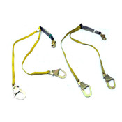 "(2) Reliance 741206 6' Safety Harness Shock Absorbing Lanyards 1"" Webbing 310lbs"