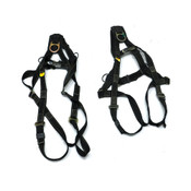 (Lot of 2) Reliance 800052 Universal Size 310lbs Safety Harness Kvlr/Nmx Webbing
