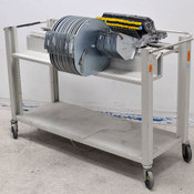 Universal 4796 8mm 8x2 Feeders CT-0895 (26) with Roll-Around Storage Rack