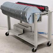 Universal 4796 8mm Feeders CT-0891 -0898 (77) w/ Roll-Around Storage Rack
