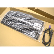 NEW Preh Commander MC147 Black Programmable Keyboard 147-Key w/ Card Reader