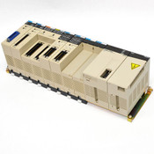 Omron Sysmac C200HE Programmable Controller CPU42 with PSU, I/O and NC Units