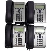 (Lot of 4) Cisco CP-7906G Unified IP Digital VoIP Business Office Phones