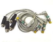 Turck Ni 4-M12-AP6X-H1141 Inductive Proximity Sensor w/ Cables (4)