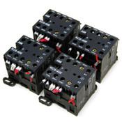 (Lot of 4) ABB KC6-40E Control Relay Mini Contactors 5A 600VAC IEC/EN 60947-5-1