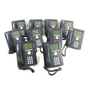 Avaya 9608 8-Line IP Business Telephones w/Handsets & Stands (10)